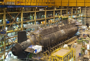 Британия спустит на воду вторую суперподлодку типа Astute