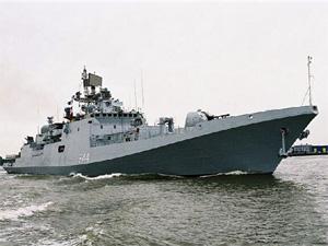 В Калининграде заложили первый фрегат нового проекта для ВМФ РФ