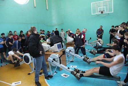 Открытый чемпионат и первенство города ростова-на-дону на гребных эргометрах